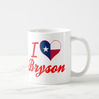 I Love Bryson, Texas Classic White Coffee Mug