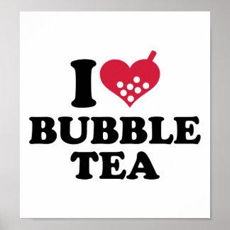 I love Bubble Tea Poster
