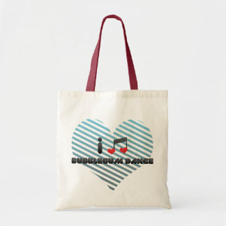 I Love Bubblegum Dance Tote Bag