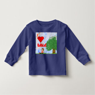 I Love Bubbles Toddler T-shirt