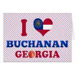 I Love Buchanan, Georgia Greeting Card