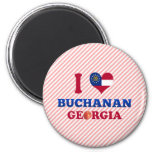 I Love Buchanan, Georgia Magnets