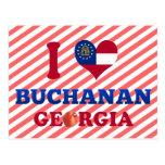 I Love Buchanan, Georgia Post Card