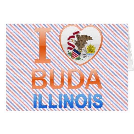 I Love Buda, IL Card