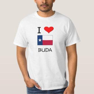 I Love Buda Texas T-Shirt