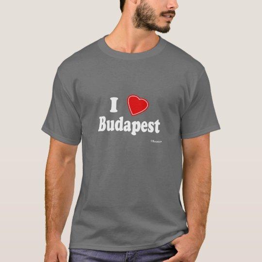 I Love Budapest T-Shirt