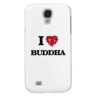 I love Buddha Galaxy S4 Cases