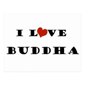 I Love Buddha Postcards