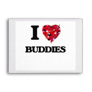 I Love Buddies Envelope