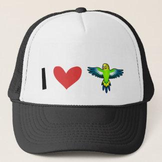 I Love Budgies / Parakeets Trucker Hat