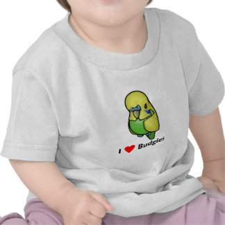 I love Budgies T Shirts