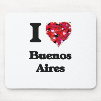 I love Buenos Aires Argentina Mouse Pad