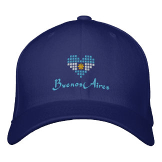 I Love Buenos Aires Cap - Argentinian Flag Hat