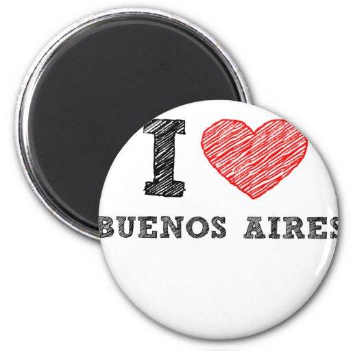 I Love Buenos Aires Fridge Magnet