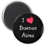 I Love Buenos Aires Fridge Magnets