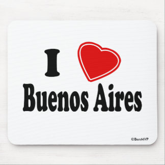 I Love Buenos Aires Mouse Pad