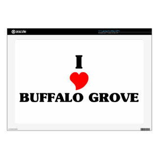 """I love Buffalo Grove Decals For 17"""" Laptops"""