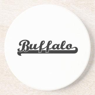 I love Buffalo New York Classic Design Coaster