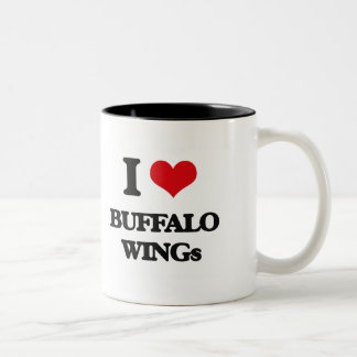 I love Buffalo Wings Two-Tone Mug