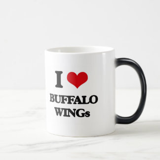 I love Buffalo Wings Morphing Mug