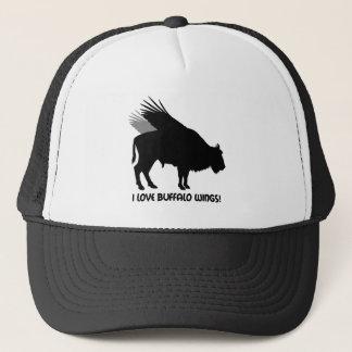 I love buffalo wings trucker hat