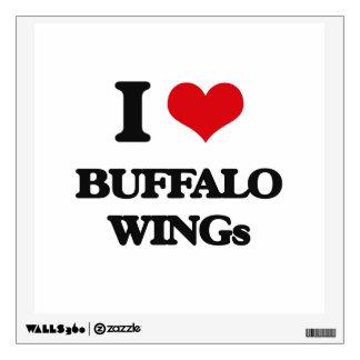 I love Buffalo Wings Wall Graphics