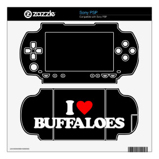 I LOVE BUFFALOES DECAL FOR THE PSP