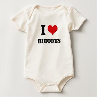 I love Buffets Baby Creeper