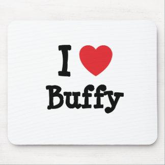 I love Buffy heart T-Shirt Mouse Mat