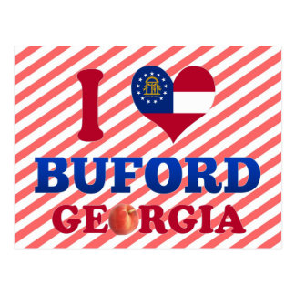 I Love Buford, Georgia Postcard