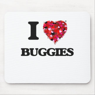 I Love Buggies Mouse Pad