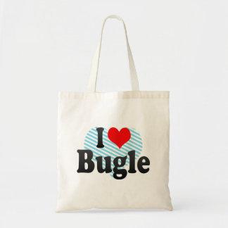 I love Bugle Tote Bags