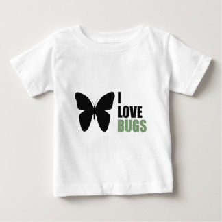 I Love Bugs Butterfly Shirt Insect Lover