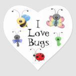 I Love Bugs Sticker