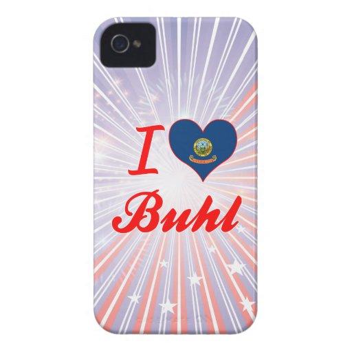 I Love Buhl, Idaho iPhone 4 Case-Mate Cases