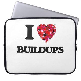I Love Buildups Computer Sleeves