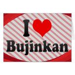 I love Bujinkan Greeting Card