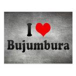I Love Bujumbura, Burundi Postcards