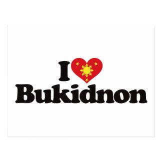 I Love Bukidnon Post Card