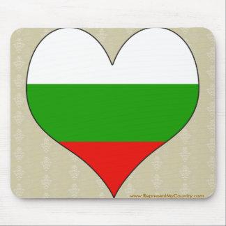 I Love Bulgaria Mousepad