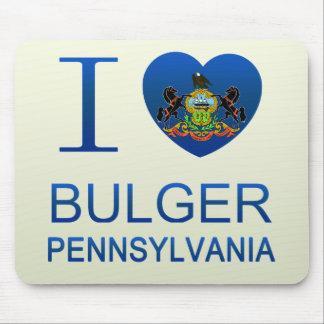 I Love Bulger, PA Mouse Pad