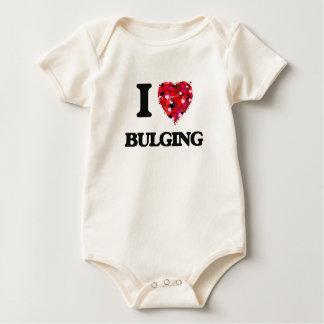 I Love Bulging Baby Creeper