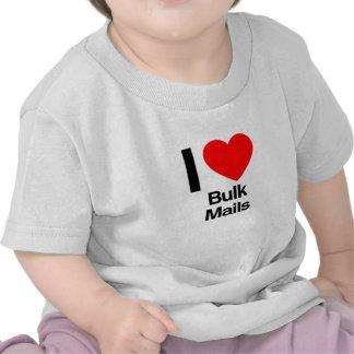 i love bulk mails t-shirt