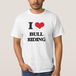 I Love Bull Riding T-Shirt