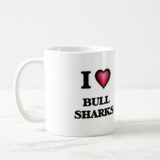 I Love Bull Sharks Coffee Mug