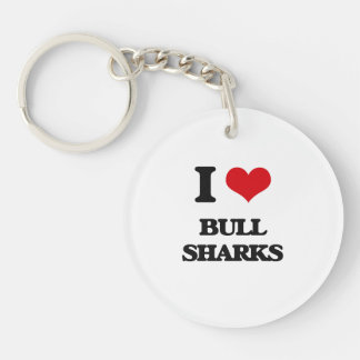 I love Bull Sharks Keychains