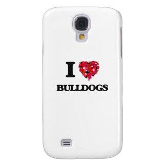 I Love Bulldogs Samsung Galaxy S4 Covers