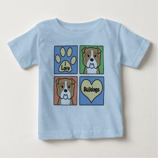 I Love Bulldogs Tee Shirt