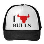 I Love Bulls Trucker Hat