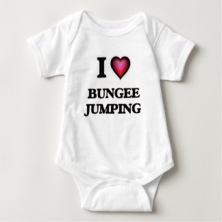 I Love Bungee Jumping Baby Bodysuit